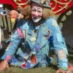 Mark Anthony at the circus - color photo
