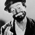 Red Skelton as his happy hobo clown character, Freddie the Freeloader