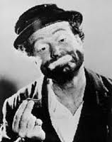 Red Skelton as his famous hobo clown character, Freddy the Freeloader