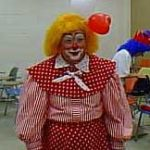 Another clown from Clown Camp 1998, sporting a very well-done auguste clown makeup job.