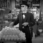 The blind man causes chaos in W. C. Fields grocery store