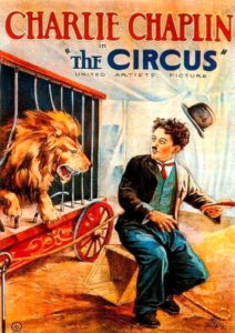 The Circus, produced & directed by Charlie Chaplin. Starring Charlie Chaplin, Merna Kennedy, Al Garcia, Harry Crocker, Henry Bergman