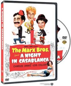 A Night in Casablanca, starring the Marx Brothers