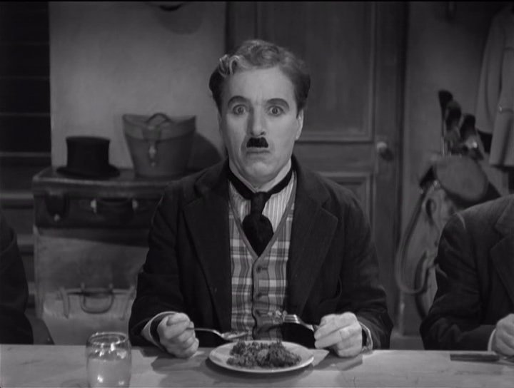 """The Great Dictator – Charlie Chaplin as the Jewish barber, realizes that he's been 'chosen"""" for a suicide mission"""
