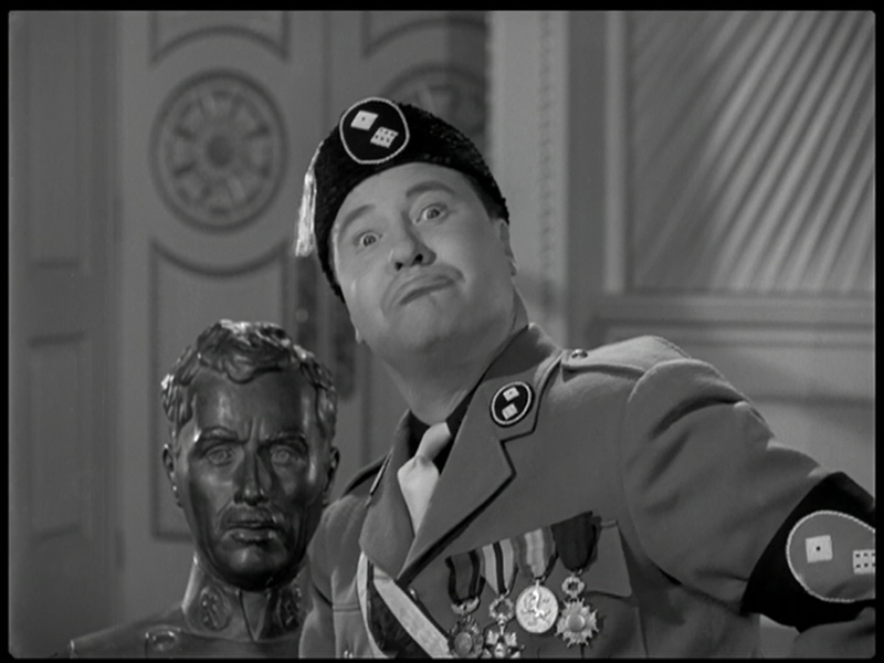 The Great Dictator – Jackie Oakley mugging for the camera