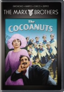 Review of The Cocoanuts, starring Groucho Marx, Chico Marx, Harpo Marx, Zeppo Marx, Margaret Dumont