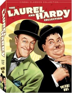Review of The Laurel and Hardy Collection, volume 1 (Great Guns / Jitterbugs / The Big Noise)
