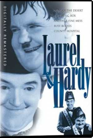 review of Laurel & Hardy DVD (1933) - DVD compilation of Laurel and Hardy's best talking films - Sons of the Desert, The Music Box, Another Fine Mess, Busy Bodies, County Hospital