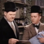 Their First Mistake - Oliver Hardy and Stan Laurel get served