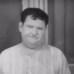 They Go Boom! Oliver Hardy suffering