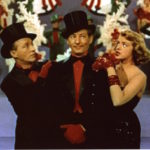 Scene from White Christmas, with Bing Crosby, Danny Kaye, Rosemary Clooney