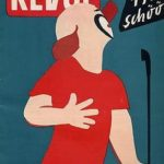 Charlie Rivel on the cover of Revue magazine in 1954
