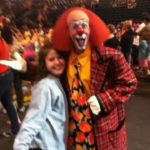 """Ron """"Toto"""" Johnson at the Ringling Brothers circus in Bettendorf, Iowa 2012"""