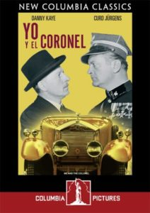 Me and the Colonel - DVD cover - Danny Kaye, Curt Jurgens