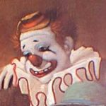 Felix Adler, world famous circus clown