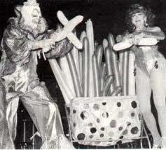 Blinko (Ernie Burch) & his wife Maran