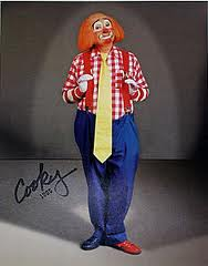 Roy Brown, as Cooky the Clown from WGN-TV's Bozo the Clown, 1995