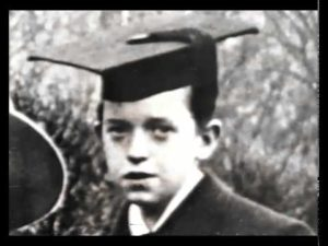 Young Stan Laurel graduation