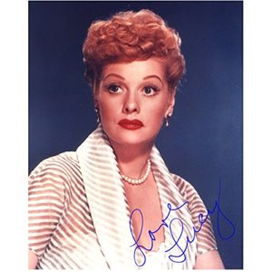 Lucille Ball color photo