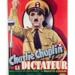 Charlie Chaplin - Le Dictateur - French movie poster for The Great Dictator