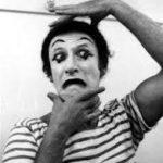 Marcel Marceau miming as Bip