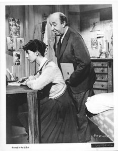 Millie Perkins & Ed Wynn in The Diary Of Anne Frank, 1959
