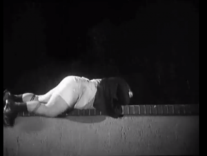 Night Owls, where Oliver Hardy finally loses his pants altogether