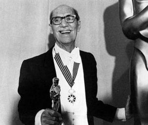 Groucho Marx with Oscar