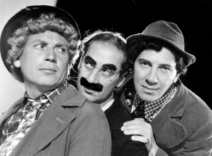 The Marx Brothers, 1940 - Harpo, Groucho, Chico