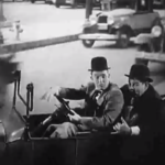 County Hospital - tipsy Stan Laurel drives terrified Oliver Hardy home