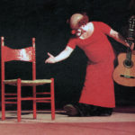 Charlie Rivel, 1967, performing his act