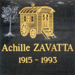 Achille Zavatta commemorative plaque