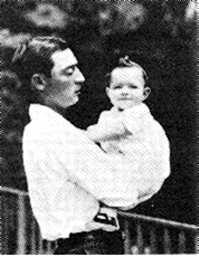 Buster Keaton and his son, Buster Keaton Jr.