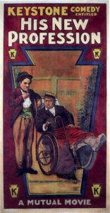 His New Profession (1914) starring Charlie Chaplin, Fatty Arbuckle, Charley Chase