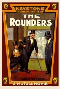 The Rounders - starring Charlie Chaplin and Fatty Arbuckle