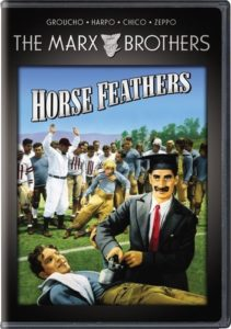 Horse Feathers, starring the Marx Brothers (DVD cover)