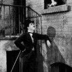 The Great Dictator, starring Charlie Chaplin as the Jewish barber, and Paulette Goddard