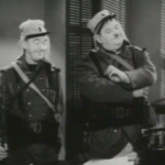 Stan Laurel and Oliver Hardy join the French Foreign Legion in Flying Deuces