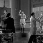 The Great Dictator – Charlie Chaplin as the dictator Adenoid Hynkel, posing