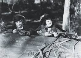Stanlio and Ollio (Stan Laurel and Oliver Hardy) in Fra Diavola, The Devil's Brother, Bogus Bandits