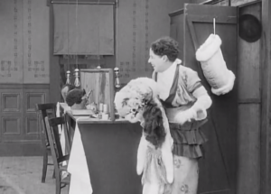 The Masquerader - Charlie Chaplin revealing himself as the beautiful woman