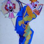Bill Ballantine drawing of Lou Jacobs