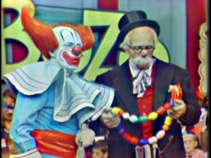 Bozo Frank Avruch and Professor Tweetyfoofer from Boston