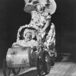 Lou Jacobs doing his baby carriage routine at the circus