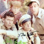 Don Knotts with the cast of the Andy Griffith Show
