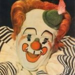 Chuck Burnes inducted into the 2014 Clown Hall of Fame