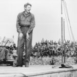 Danny Kaye entertaining the troops