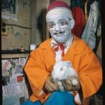 Frankie Saluto and bunny