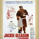"DVD cover of ""Gigot"" starring Jackie Gleason, in a Chaplinesque performance"