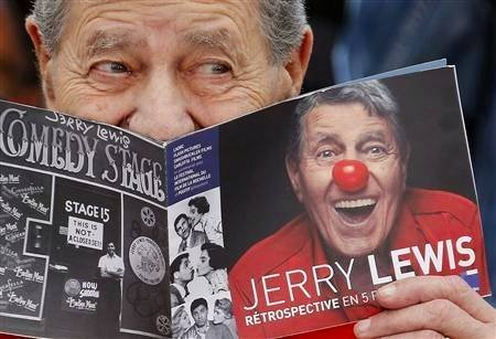 Jerry Lewis reading